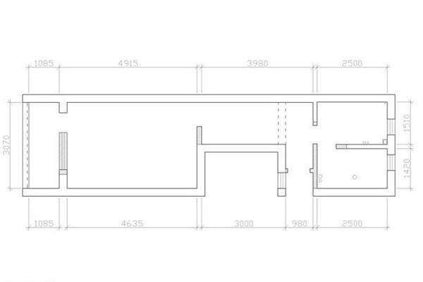 房子的户型图