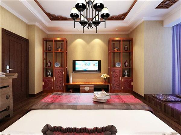 卧室图片来自湖南名匠装饰在金色溪泉湾新中式风格的分享