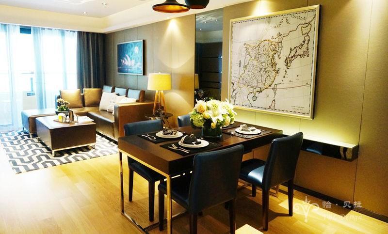 简约 白领 80后 餐厅图片来自广州怡贝拉装饰工程在佛山普君新城•华府21E样板间的分享