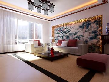 阳光100复式家装效果图