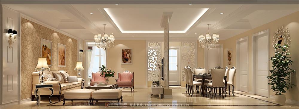 简约 欧式 小资 三居 二居 别墅 客厅图片来自高度国际家居别墅装饰在简欧风格5的分享