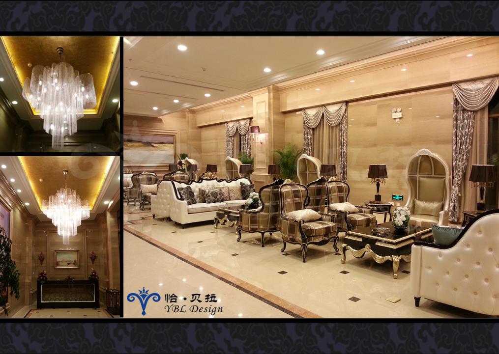 欧式 其他图片来自广州怡贝拉装饰工程在广晟 • 江山帝景营销中心的分享