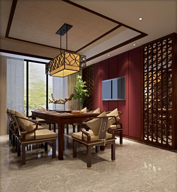 餐厅以中式风格为主,以洁白干净的白色为主色调,以浅色为主深色为辅。拥有浓厚中式风味的中式装修风格,实现了团团圆圆用餐习惯的中国式餐饮空间设计。
