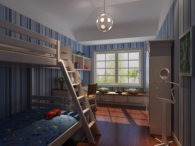 今朝装饰 跃层装修 金科廊桥 地中海风格 全包 儿童房图片来自北京今朝装饰在复式也可以小清新。田园我的家的分享