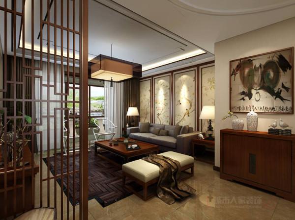 客厅整体家居既有现代简约的沙发,又有传统古典的明式家具,在家具设计上也不忘为现代中式添以这厚重的一笔,卧室后期采用传统纹样的地毯,仿古台灯,明式圈椅…...把中式文化中的意境美恰到好处地参透到每个角落。