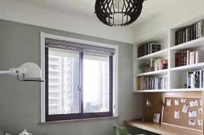 处女座 完美 现代 舒适 三口之家 书房图片来自佰辰生活装饰在完美处女座的现代舒适爱家的分享