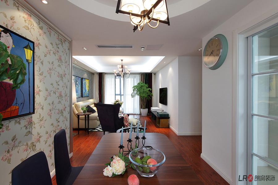 现代 白领 三居 85后 餐厅图片来自朗润装饰工程有限公司在保利花园-现代的分享