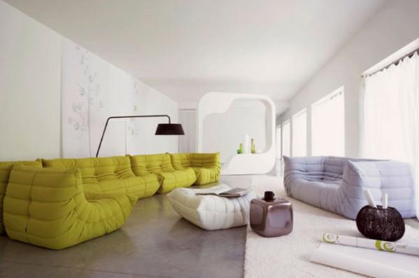 一张沙发要经得起时光的洗礼,历久弥新,它除了要具备优秀的品质外,还需要一个出众的外型。来自法国的设计师 Michel Ducaroy,出生於一个艺术家庭,从小便浸泡在建筑与艺术之间,因此培养出一种对产品的独特触觉。