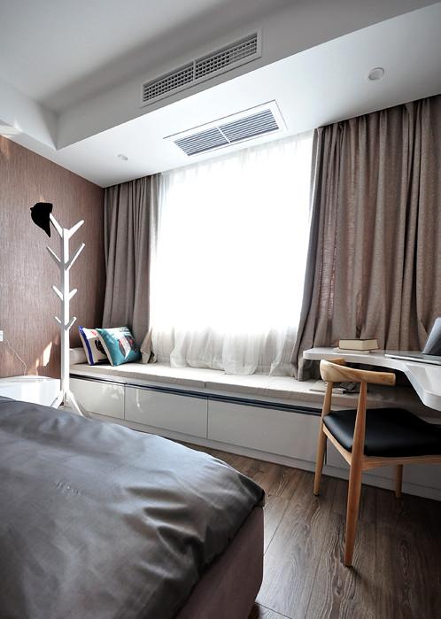 卧室图片来自家装大管家在145平新中式雅居 演绎豁达含蓄的分享