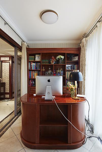 鸿园 四居 混搭 书房图片来自沪上名家装饰在精致混搭-鸿园的分享