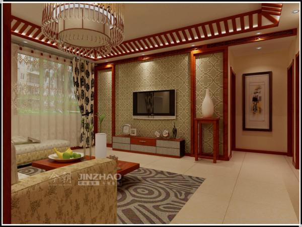 【今朝装饰www.xajzzs.cn】:西安时丰姜溪花都-117平三居室--中式古典(本小区装修设计74套)