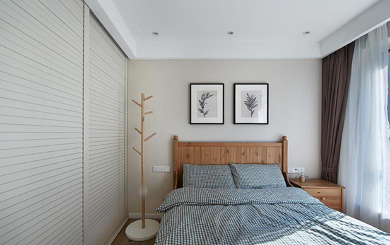 卧室图片来自家装大管家在时尚典雅 134平现代北欧混搭3居的分享