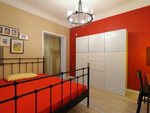 简约 田园 小资 三居 卧室图片来自四川岚庭装饰工程有限公司在124平现代田园风的分享