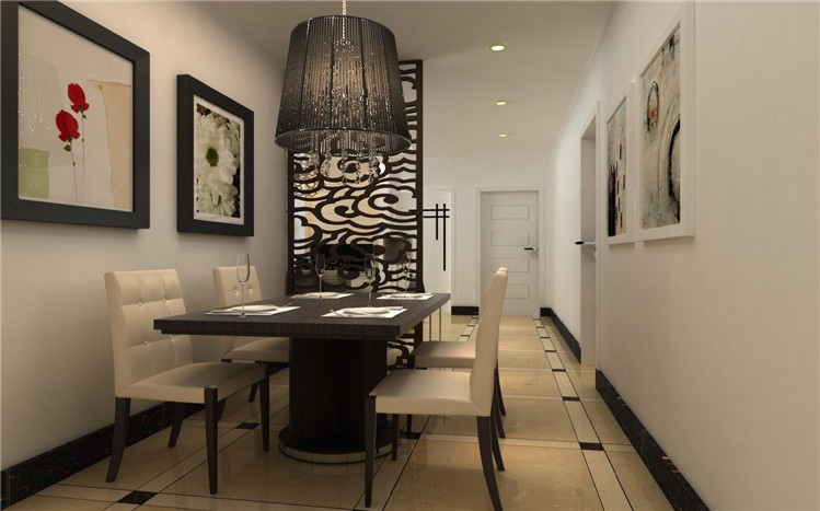 简约 三居 餐厅图片来自郑州实创装饰-杨淑平在二七区【升龙城】装修设计效果图的分享