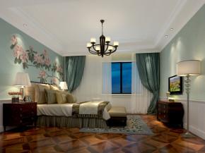 新古典 稳重 大气 温馨 卧室图片来自美颂雅庭装饰在华润悦府220平演绎新古典的分享