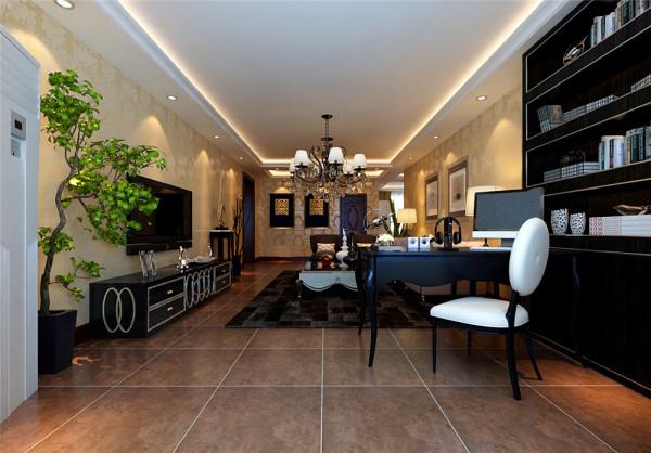 它在形式上以浪漫主义为基础,运用大理石地面、华丽多彩的织物、精美的地毯、多姿曲线的家具,让室内显示出豪华、富丽的特点,充满强烈的动感效果。