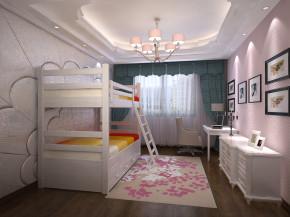 新古典 稳重 大气 温馨 儿童房图片来自美颂雅庭装饰在华润悦府220平演绎新古典的分享