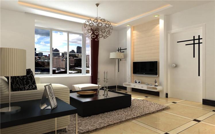 简约 三居 客厅图片来自郑州实创装饰-杨淑平在二七区【升龙城】装修设计效果图的分享