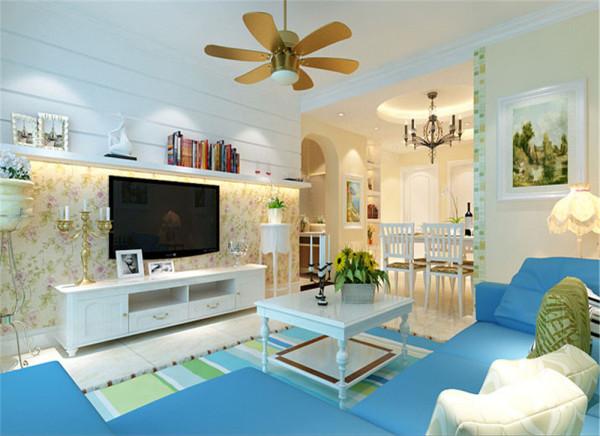 满足三居室的需求(偶尔父母会来小住),餐厅面积较小,在设计上 要冲分的利用空间体现出宽敞明亮的感觉