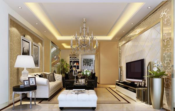 富丽堂皇的现代客厅