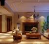 汇智湖畔110平美式风格雅致小居