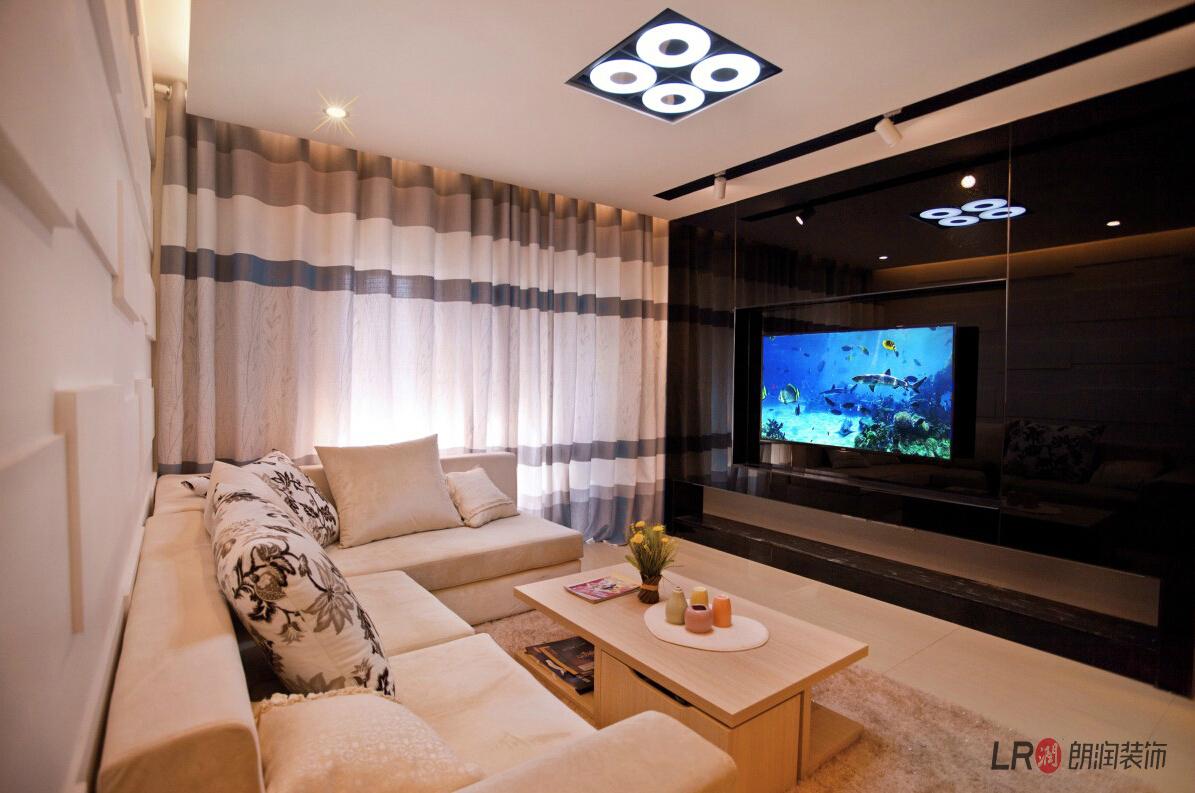 现代 简约 三句 三代同堂 客厅图片来自朗润装饰工程有限公司在成都ICC  4号楼现代风格的分享