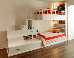 中式 四居室 白领 小资 儿童房图片来自好易家装饰集团在尚都 2栋F G座03户型图的分享