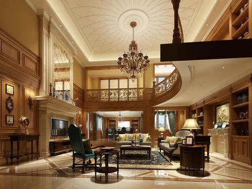 欧式 别墅图片来自重庆东易日盛装饰在别墅-欧式风格装修效果的分享