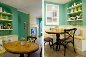 简约 小清新 小资 三居 餐厅图片来自成都家和装饰在灵动随意,90m²的绿野小清新的分享