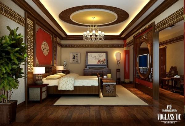 首府别墅之卧室