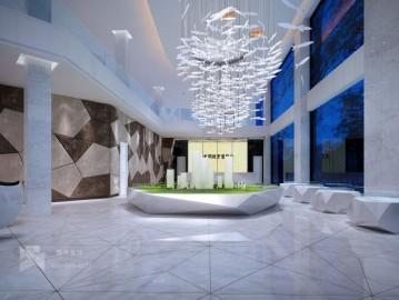 平顶山光明城市售楼部装饰项目
