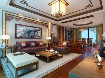 春季装修170平中式三代同堂之家