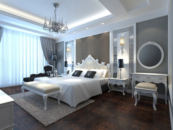 卧室是住宅中一个非常重要的环境之一,也是我们心灵的圣地,在这里我们可以完全地放松,可以让自己变得更有活力,在漫长而又喧闹的工作时间结束后,回到一个温馨、舒适而又安静的卧室