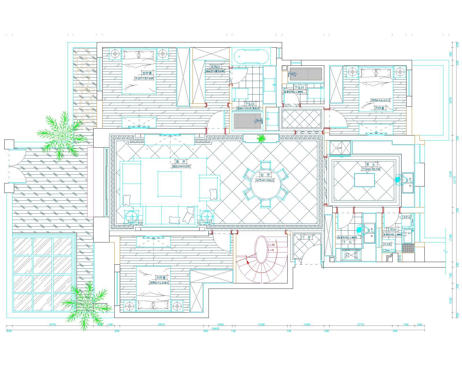 兰湖美域 别墅装修 别墅设计 聚通装潢 欧式风格 户型图图片来自jtong0002在兰湖美域别墅装修欧式风格设计的分享