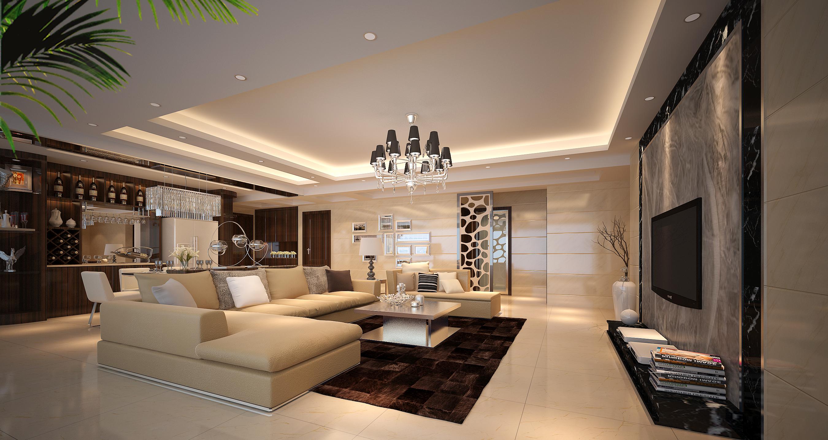 欧式 简欧风格 三居 舒适空间 深圳装修 客厅图片来自名雕装饰设计在珑御府简欧时尚三居室的分享