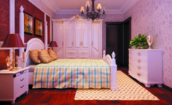 主卧以木地板铺设,舒适的同时也不忘色彩的搭配,让客户从眼睛到身心都感觉到愉悦。石