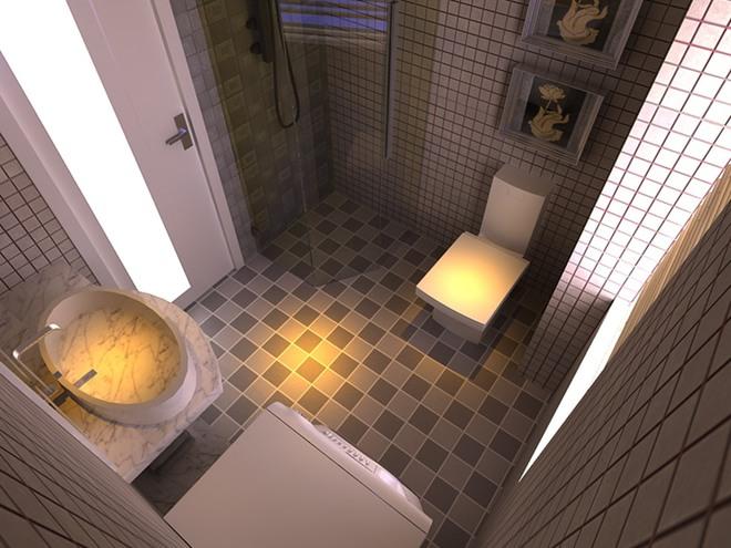 二居 旧房改造 80后 白领 简约 卫生间图片来自今朝装饰老房装修通王在简洁大方、自然舒适的分享