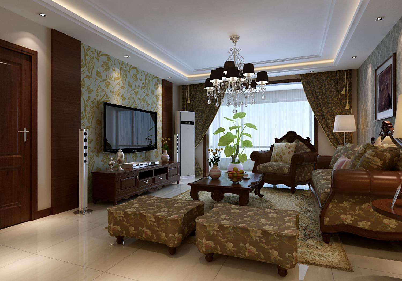 欧式 新古典 三居 白领 收纳 80后 小资 客厅图片来自今朝装饰-陈仙僧在欧式新古典的分享