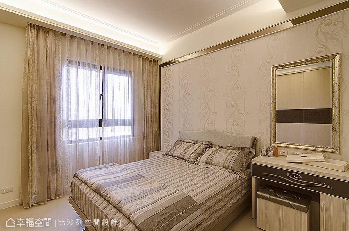 卧室图片来自幸福空间在165平细致优雅 品味国士无双的分享