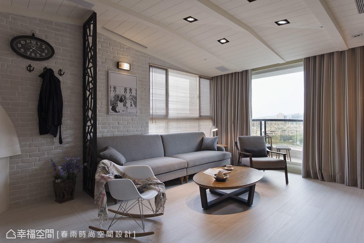 客厅图片来自幸福空间在76平南台湾的地道北欧风情的分享