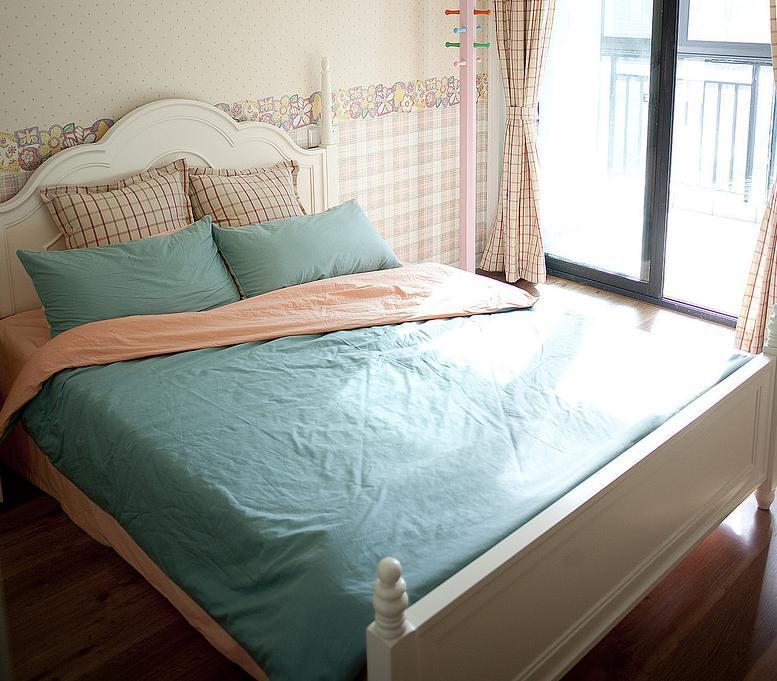 卧室图片来自佰辰生活装饰在91方蓝色法式小清新的分享