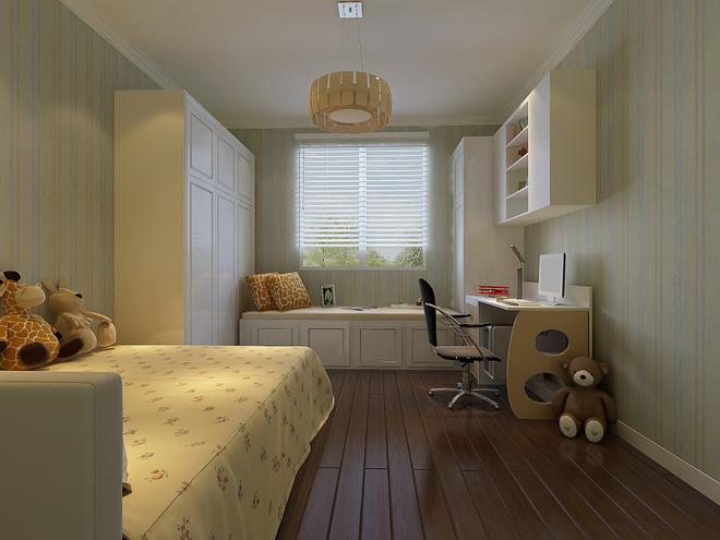 简约 三居 旧房改造 80后 白领 儿童房图片来自今朝装饰老房装修通王在三居室现代简约风格的分享