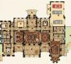 绿城玫瑰园别墅户型装修欧式风格设计方案完工案例实景展示——上海聚通装潢最新豪宅装修完工案例!