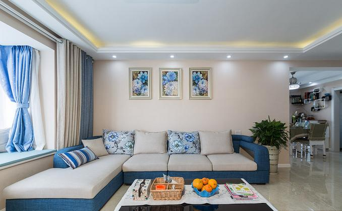 客厅图片来自佰辰生活装饰在137方最美简约混搭风格的分享