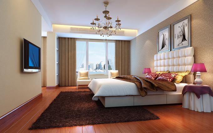 简约 三居 小资 卧室图片来自舞者vv在140平复式阁楼-现在简约的分享
