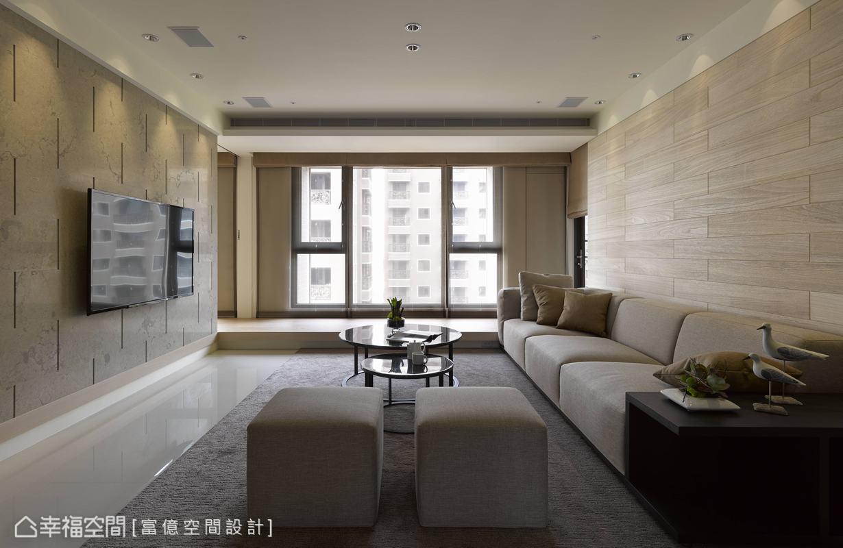 客厅图片来自幸福空间在205平度假饭店般的闲雅生活的分享