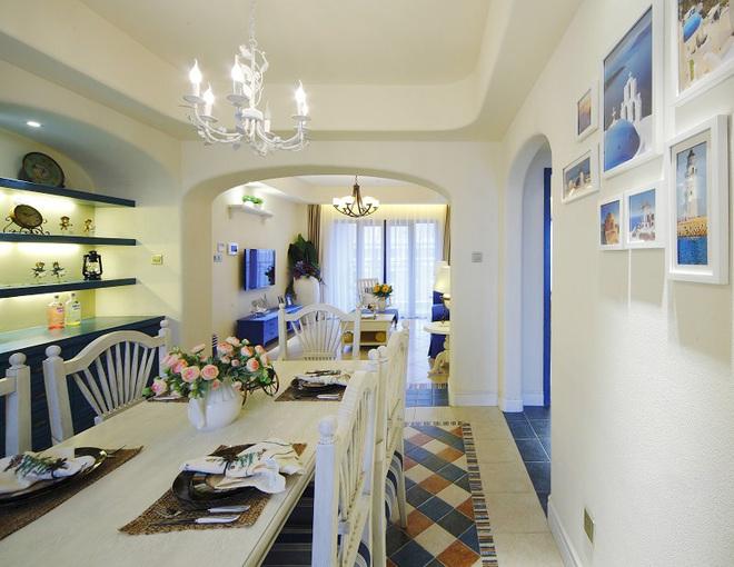 简约 田园 地中海 二居 80后 餐厅图片来自孙进进在徐汇110平二居田园地中海的分享
