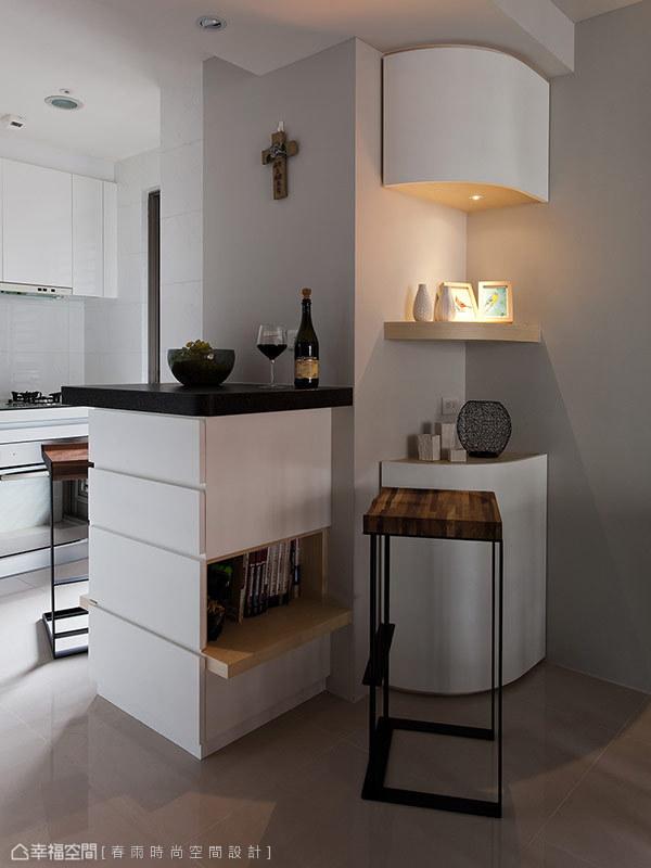 厨房图片来自幸福空间在99平白色减法 摩登光感的分享