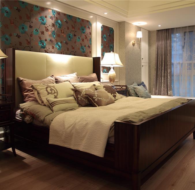 卧室图片来自佰辰生活装饰在128方九份咖啡的浪漫美式新家的分享