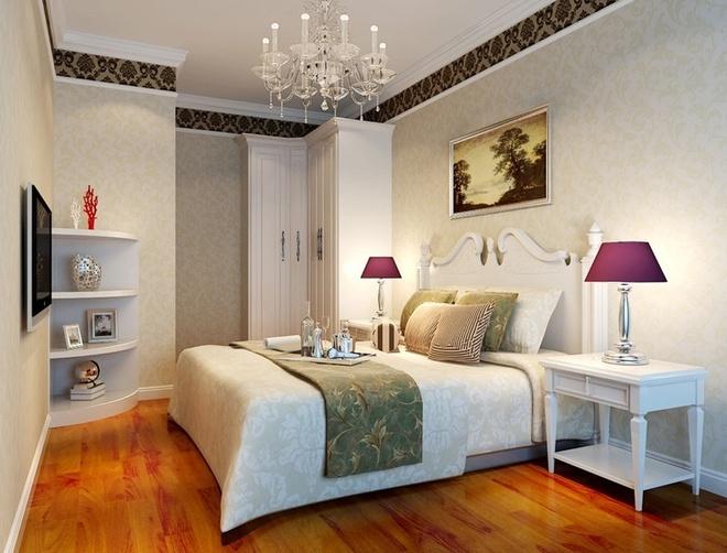 欧式 白领 小资 卧室图片来自舞者vv在高档-简欧的分享